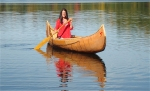 Ungava Cree-style Canoe, {Bittersweet Lake}