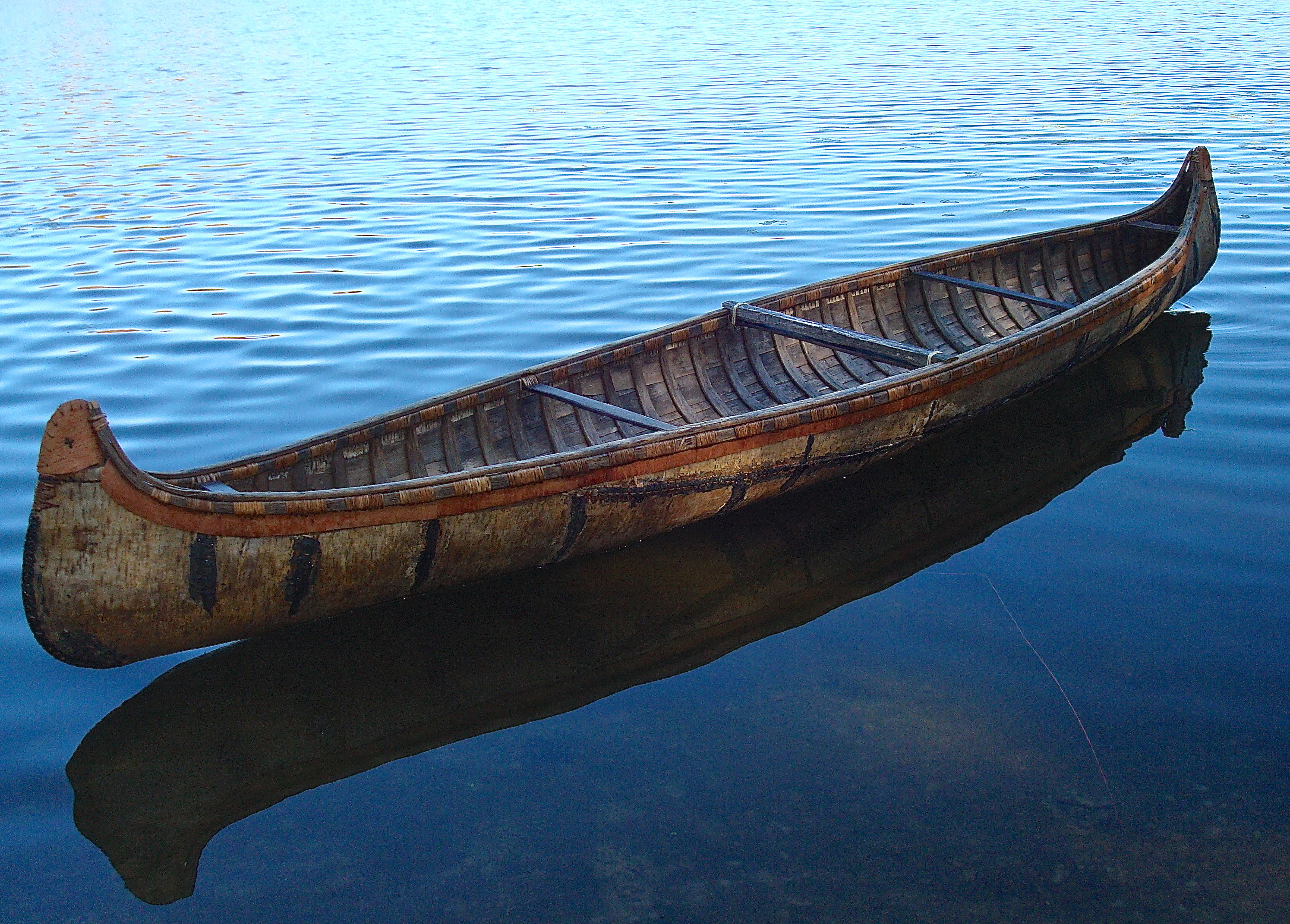 Old Fashioned Canoe